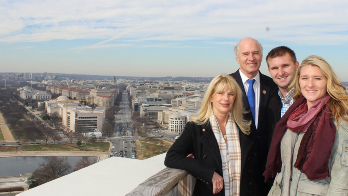 Congressman Bill Keating and his family.